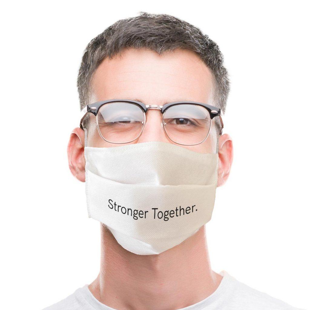 Masque Message Stronger Together
